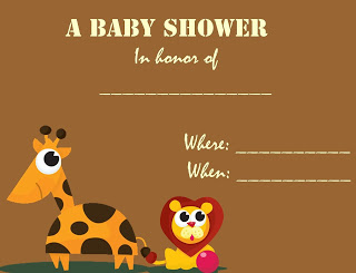 brown+baby+shower