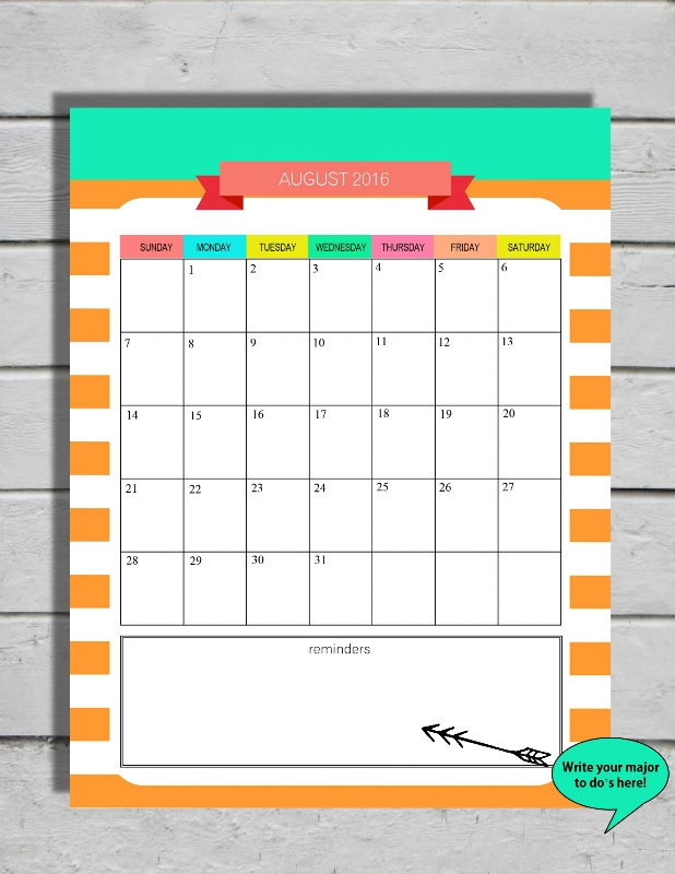 August 2016 -calendar-preview