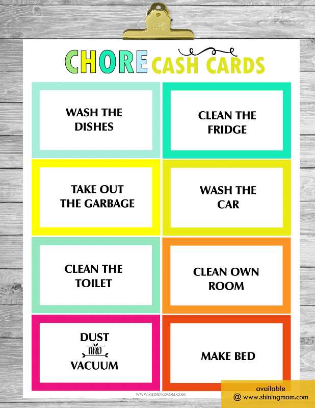 Free Printable Chore Charts That Work