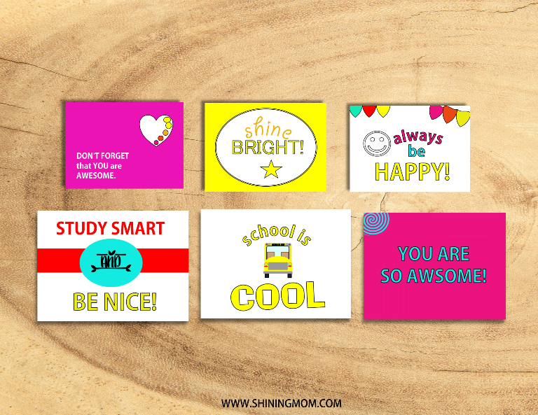 photograph about Free Printable Lunchbox Notes known as Seriously Lovable: 20 No cost Printable Lunchbox Notes for Little ones!