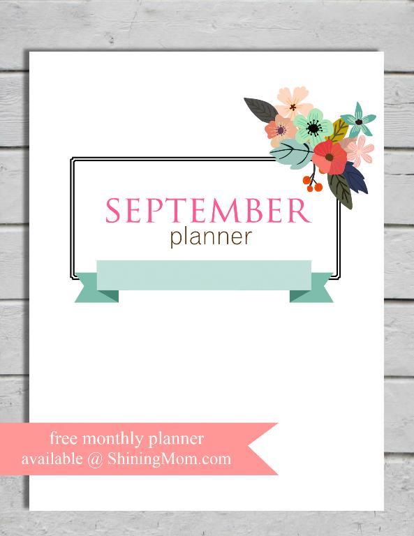 free-september-planner