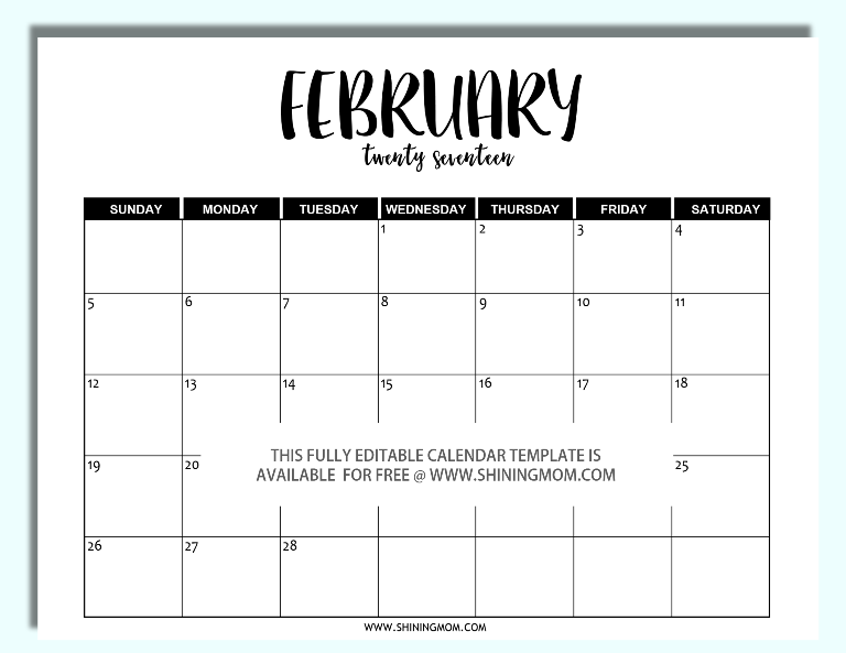 2017-editable-february-calendar-in-word
