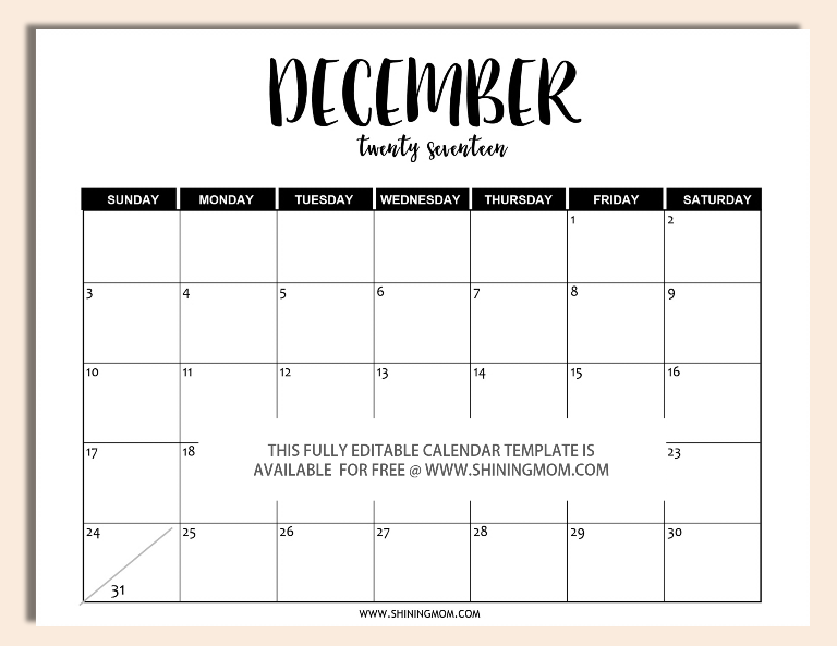 editable-december-2017-calendar-template-in-word