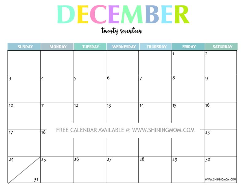free-printable-december-2017-calendar