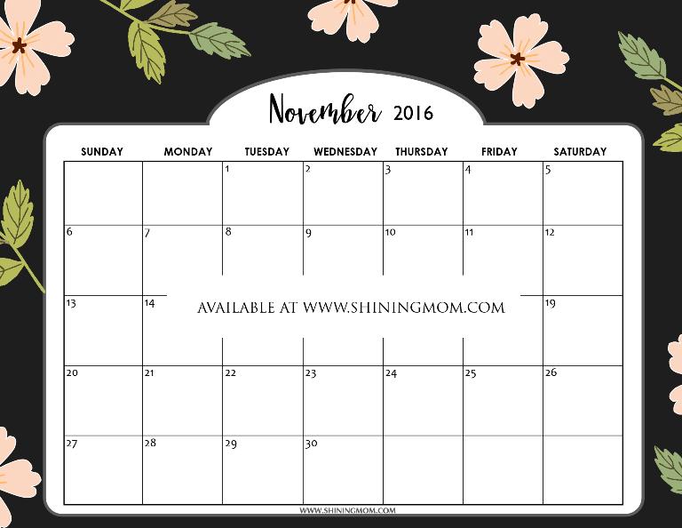 free-printable-november-2016-calendar-elegant