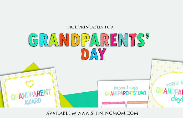photo about Printable Grandparents Day Card referred to as Entertaining and Lovable Grandparents Working day Totally free Printables!
