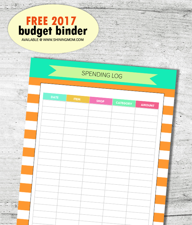 spending-log-free-printable