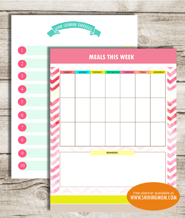 weekly-menu-printable