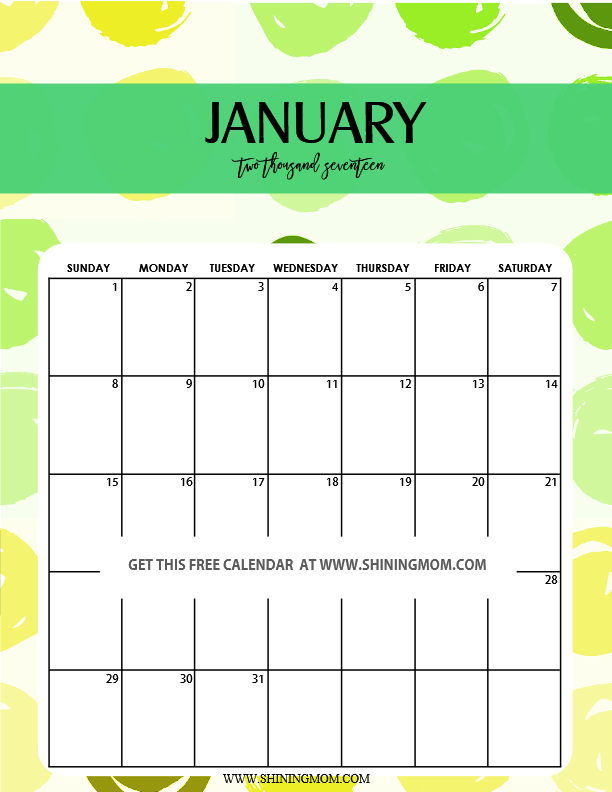 cute-january2017-calendar-printable-free
