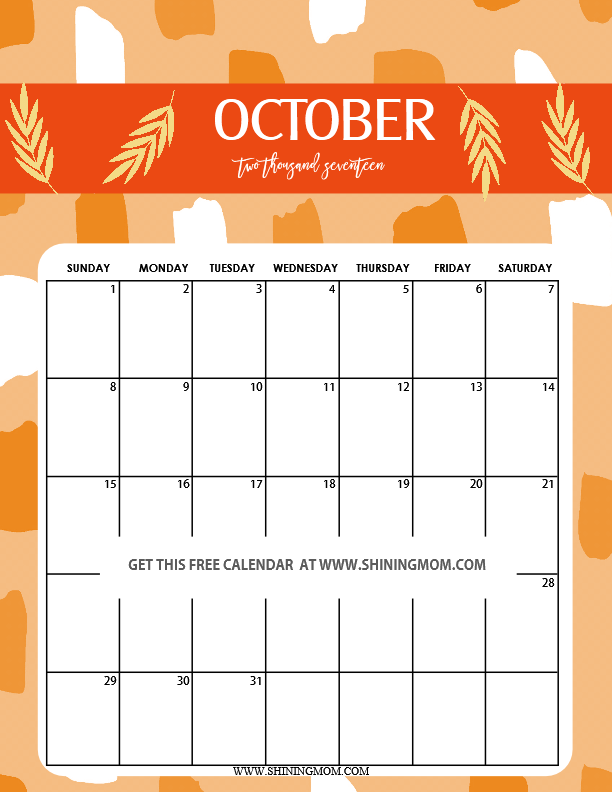 cute-october-2017-printable-calendar