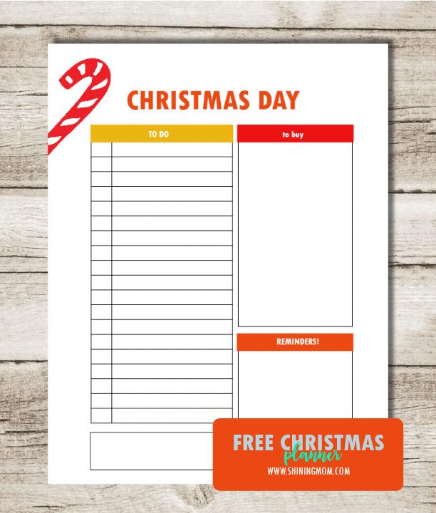free-christmas-planner-printable