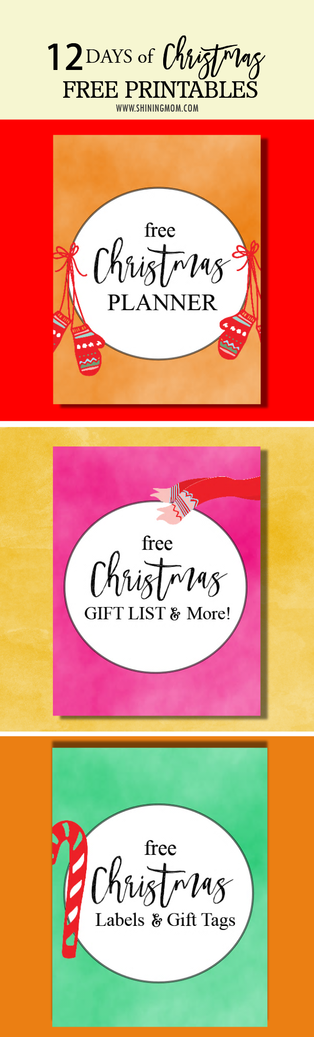 86 Free Christmas Printables Tags 742 Best Printable Labels And