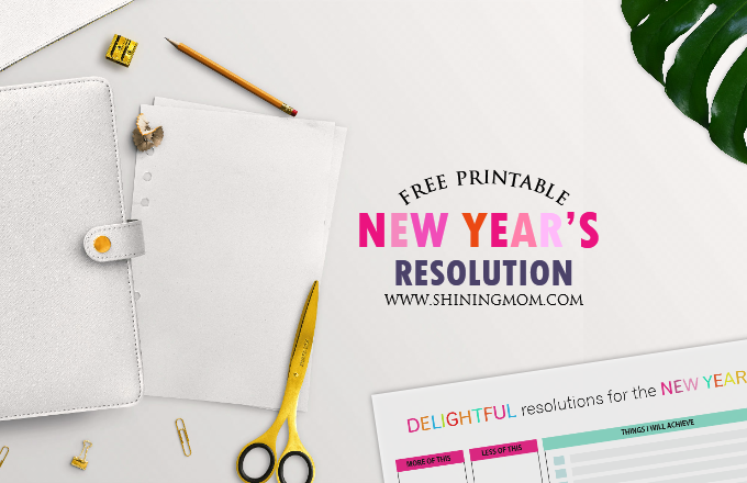 its the perfect time to reflect on the past year and set goals for the year ahead get your free printable new years resolution templates