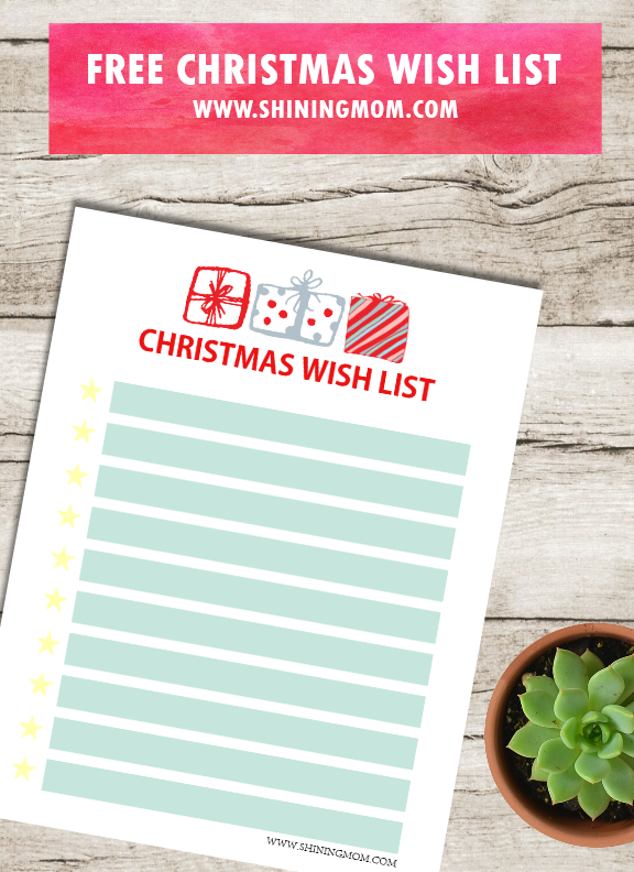 photo relating to Free Printable Christmas Wish List named No cost Xmas Reward Drive Record for Young children: Lovable Models!