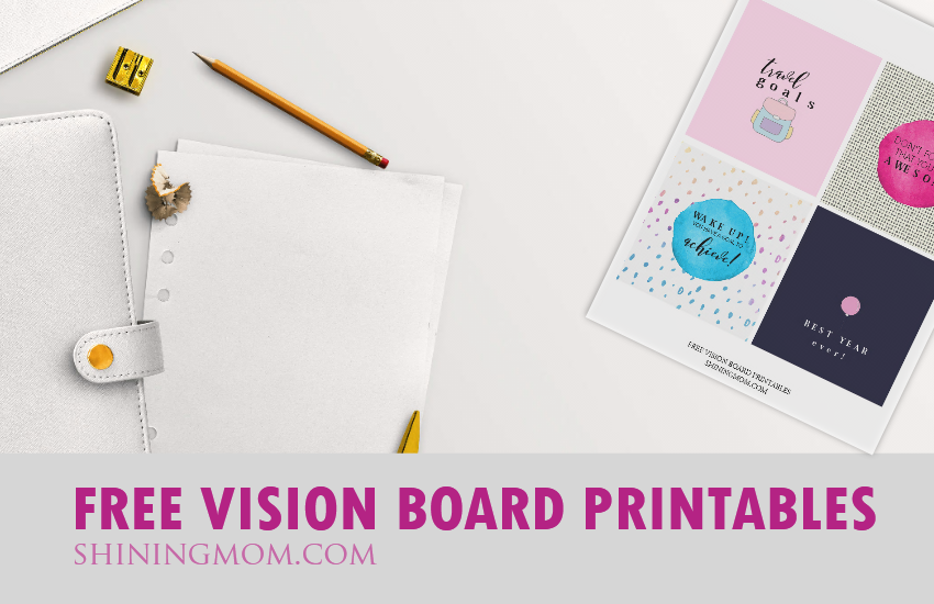 free printable vision board