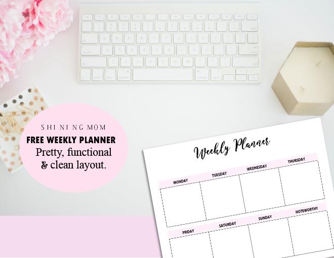 printable weekly planners