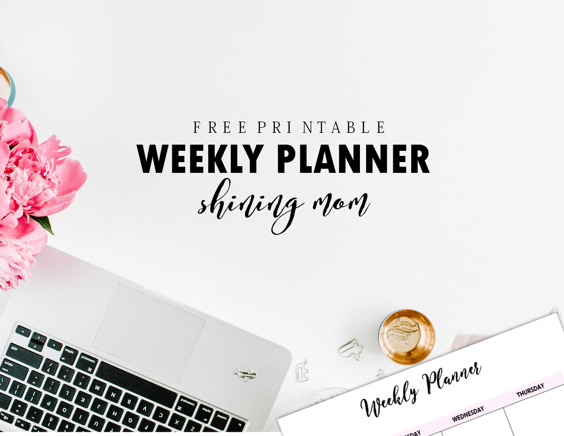 photo relating to Free Weekly Planner named Supreme Fixed of Free of charge Printable Weekly Planner
