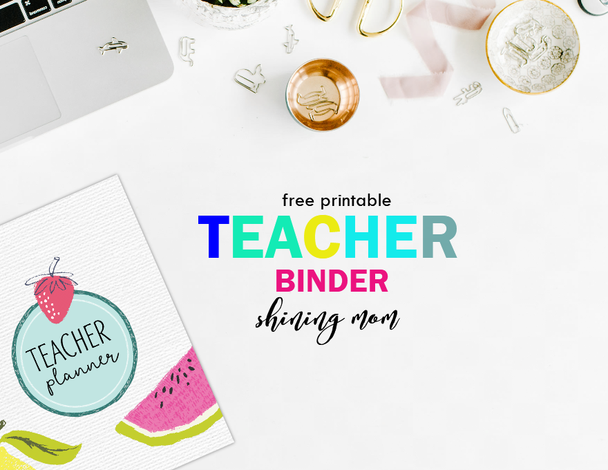 photo relating to Teacher Binder Printables known as Free of charge Trainer Binder Printables: In excess of 25 Lovely Designing