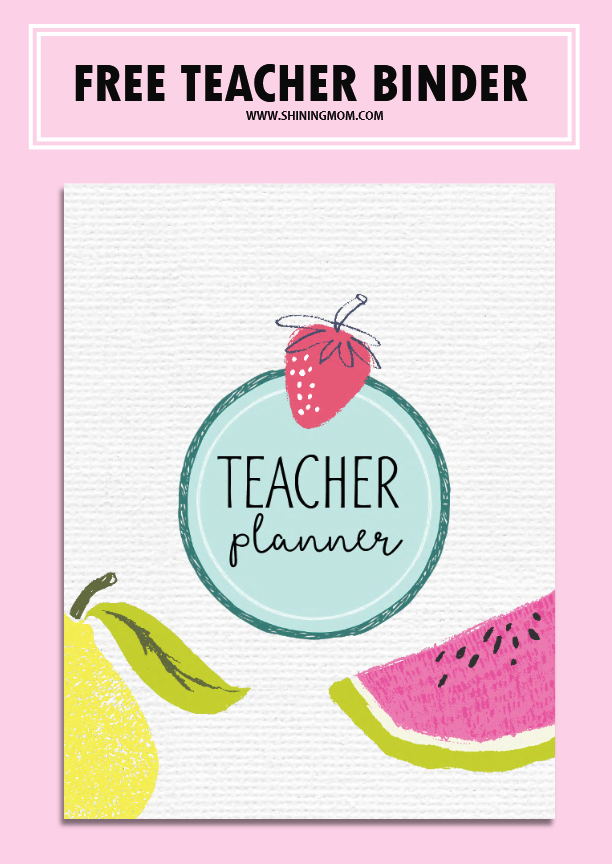 Free Teacher Binder Printables: Over 25 Pretty Planning ...