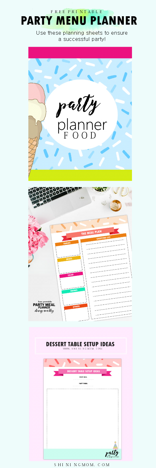 easy menu planner for your kid s birthday