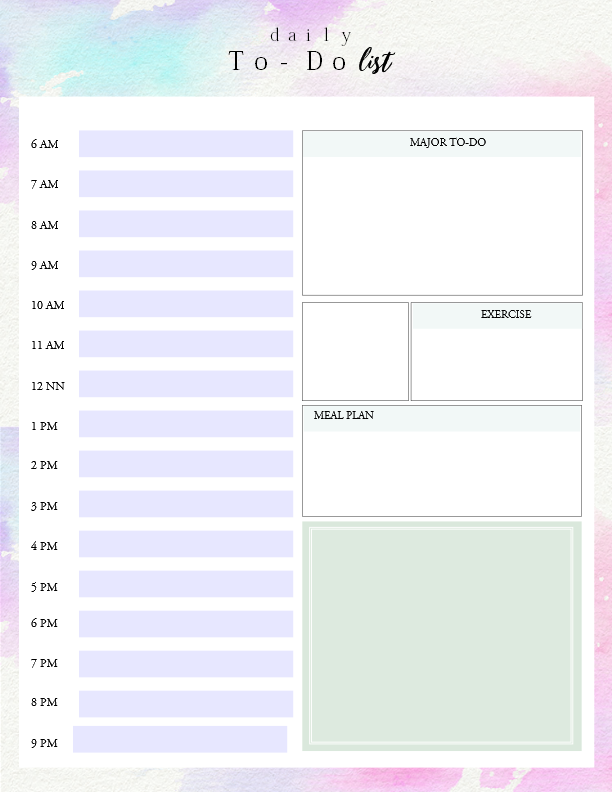 image regarding Daily to Do List Printable identify Printable Each day In direction of Do Listing Template towards Obtain Elements Performed!