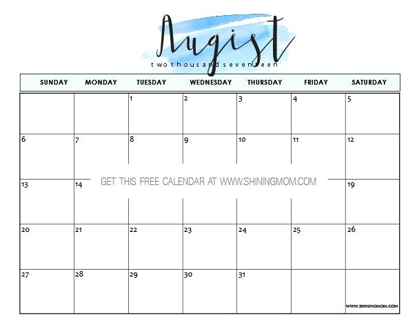 photograph regarding Pretty Printable Calendars titled Very calendar template -