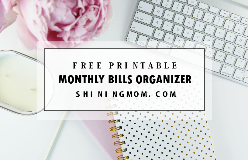 photograph about Create a Printable Monthly Bill Organizer named Final No cost Every month Invoice Price Organizer