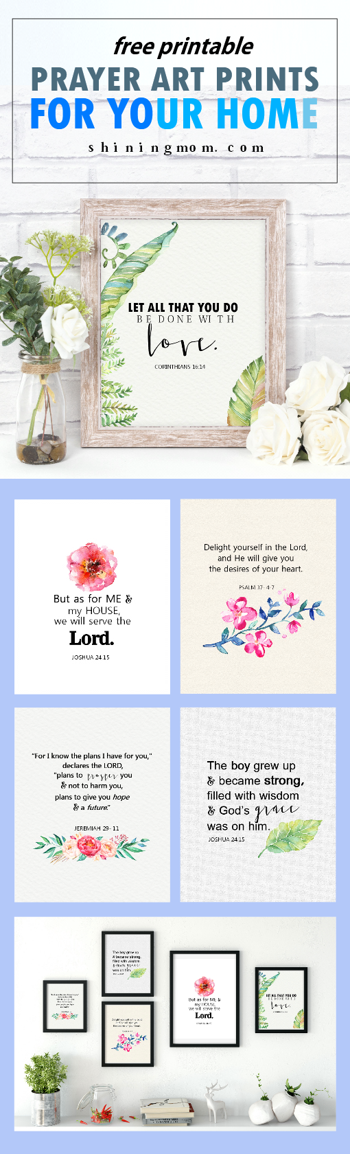 Free Bible Verses Art Printables for Your Home