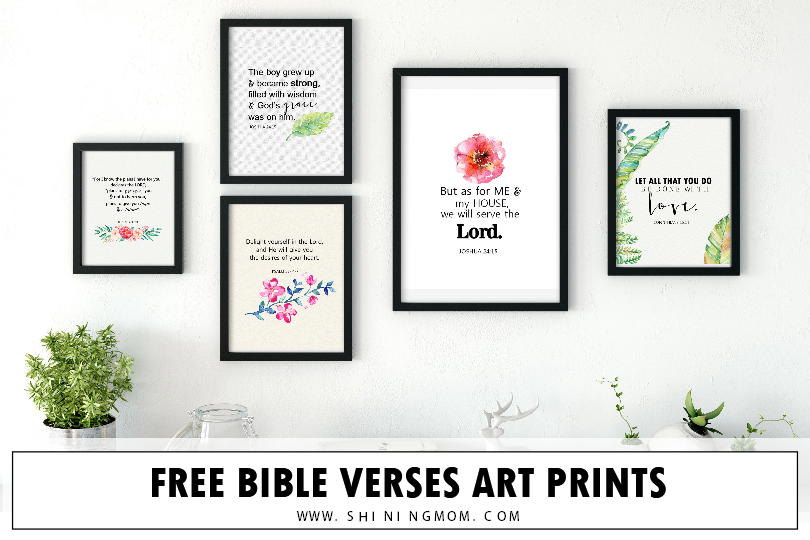 picture regarding Free Printable Bible Verses named Free of charge Bible Verses Artwork Printables for Your Dwelling