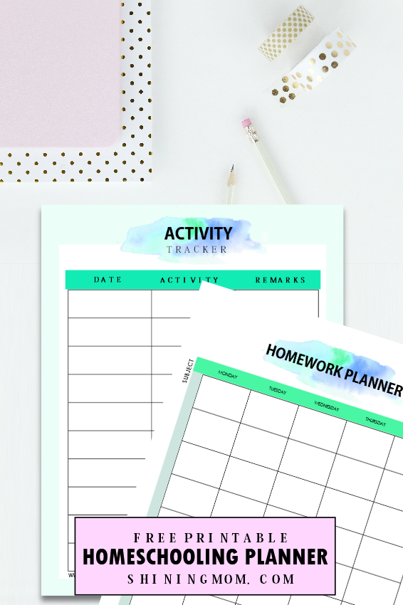 photograph regarding Free Printable Homeschool Planner referred to as The Final Absolutely free Homeschool Planner: 30+ Outstanding Printables!