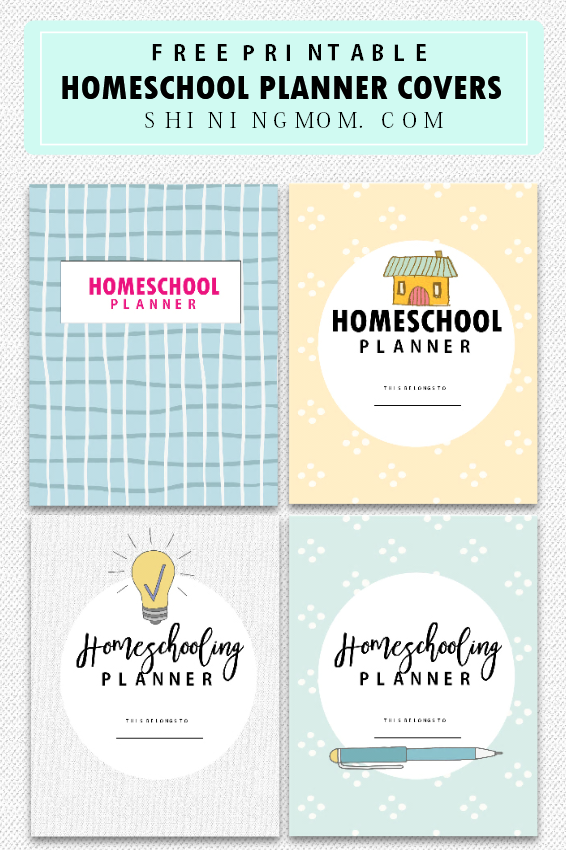 graphic about Printable Homeschool Planners identify The Top Cost-free Homeschool Planner: 30+ Unbelievable Printables!