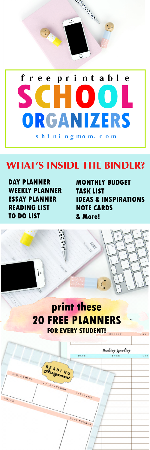 daily planners for students
