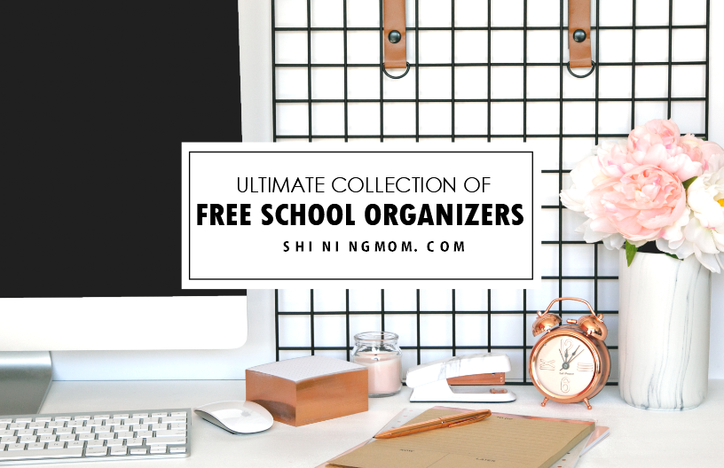 picture about Cute Planners and Organizers known as 200+ Absolutely free Unbelievable University student Business enterprise Printables