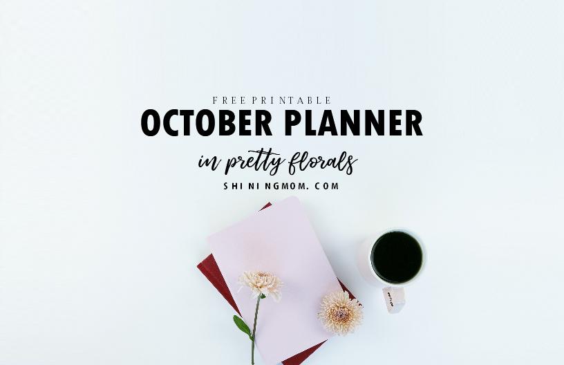 October Planner