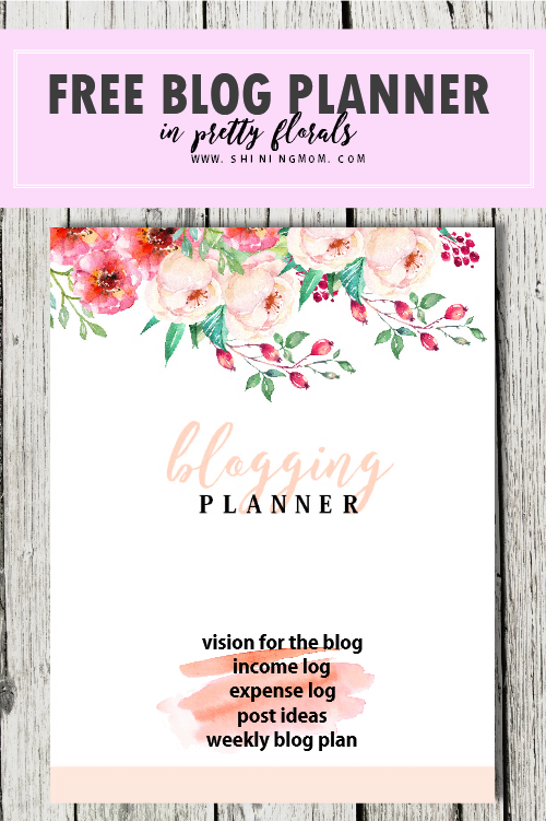 Free Printable 2018 Monthly Calendar and Planner!