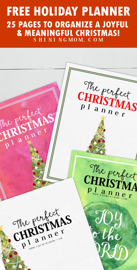 free holiday and thanksgiving planner