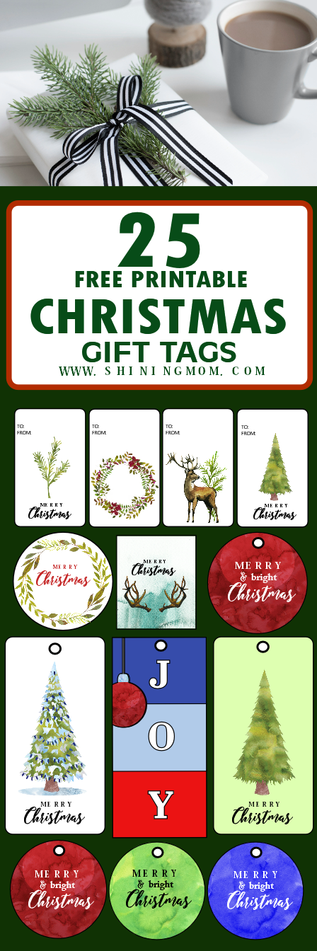 Free printable Christmas tags and labels!