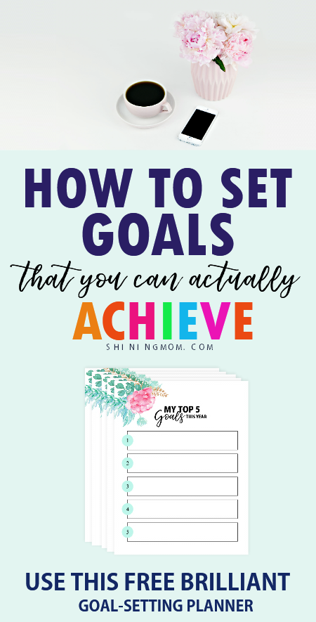 goal setting printables