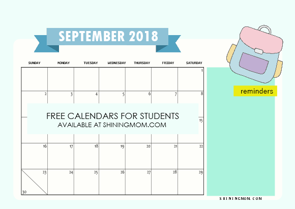 40 free student planner printables for back to school